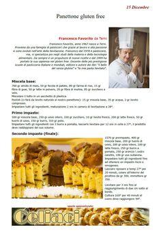 Spaghettitaliani - Portale di gastronomia - Le Ricette 3.0 - Panettone gluten free ( Dolci - Dolci, dolcetti )
