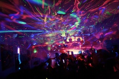 Neon party.