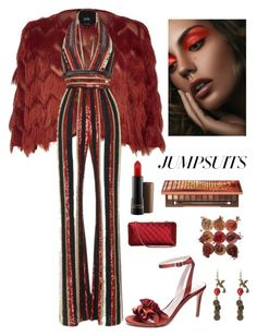 """""""Jumpsuit Trend"""" by kotnourka on Polyvore featuring River Island, Zuhair Murad, Chinese Laundry, Chanel, Urban Decay, MAC Cosmetics and jumpsuits"""