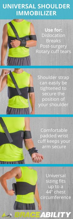 A rotator cuff tear can be extremely painful, immobilizing your shoulder until you have surgery can prevent the injury from getting worse while you wait to get it fixed.