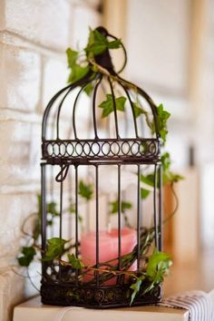 jaulas de pjaro para una decoracin vintage