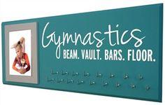 Gymnastics medals display Gymnastics - Gymnastics gift - Starting at $24.99