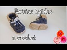 Crochet Baby Boots From 0 To 3 Months - Crochet Ideas Crochet Baby Sweaters, Crochet Baby Boots, Crochet Baby Sandals, Crochet Slippers, Baby Booties Free Pattern, Baby Boy Knitting Patterns, Crochet Shoes Pattern, Baby Knitting, Crochet Converse