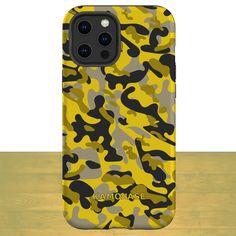 Cool Yellow Camo Phone Case - Kamokase Yellow Camo - Samsung Galaxy A51 5G