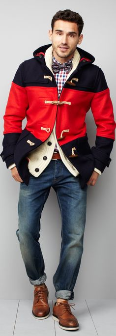 Toggle coat, with the volume on 11.