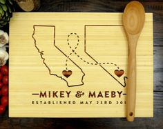 nevada cutting board on Etsy, a global handmade and vintage marketplace.