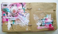 lovely art journal page