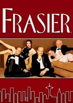 Frasier (1993) In this Emmy-winning sitcom, Frasier Crane is a Seattle psychiatrist who dispenses advice on his call-in radio show while ignoring it in his own relationships. Meanwhile, his bundle-of-nerves brother and sharp-tongued dad frequently burst his ego.