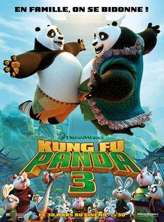 Kung Fu Panda 3 Movie Poster ( of Kung Fu Panda 3, Panda Movies, Cartoon Movies, Disney Movies, 3d Cinema, Films Cinema, Cinema Online, Image Internet, Dreamworks Movies