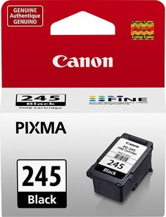 Canon - PG-245 Ink Cartridge - Black, 8279B001