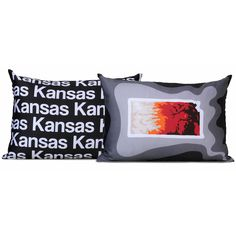 Kansas Pillow - Charcoal