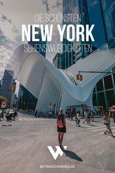 New York Reise: Wir haben dir in unserem ultimativen New York City Guide 61 fantastische New York Se New York Restaurants, New York Hotels, World Trade Center, New York Travel, Travel Usa, Travel Trip, Travel Destinations, New York Sightseeing, New York Trip