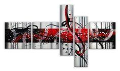 Arte dal Mondo AY032CX1 Abstrato Pintura compuesta realizada a mano montadas sobre bastidor grueso #cuadros #abstratos