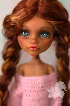 .: OOAK Monster High Doll & Craft :. Skiurid