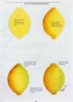 Lemon worksheet by Priscilla Hauser.