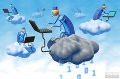 Computing on clouds will be the in-thing soon!