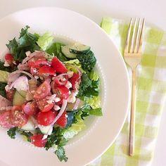 Easy at-home Greek salad