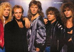 Def Leppard...Before music went down the tubes.  Loved them!