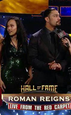 Roman Reigns & His Wife Roman Reigns Wife, Roman Reigns Shirtless, Roman Regins, Wwe Couples, Wwe Superstar Roman Reigns, King Art, Total Divas, Vin Diesel, Wwe Superstars