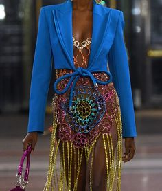 Runway Fashion Looks, Fashion Wear, High Fashion, Couture Fashion, Fashion Dresses, Colourful Outfits, Unique Outfits, Colorful Fashion, Classy Outfits