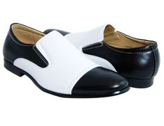 Black and White Loafers . Spectators . Slip-ons - http://shoes.goshopinterest.com/mens/loafers-mens/black-and-white-loafers-spectators-slip-ons/