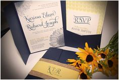sunflower wedding invitations-  If you are ready to choose what kind of wedding you would like, then all things will follow. So, when planning your wedding, choose from a wide select... Check more at http://marinagalleryfineart.com/5421/sunflower-wedding-invitations-2