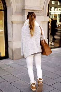 "Botas estilo ""ugg"". Sí o no? 