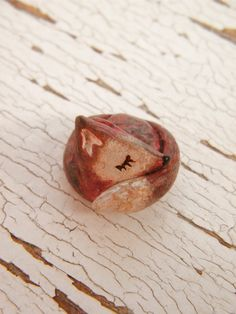 Little Fox bead - Sleepy Woodland Critters (made to order). $8.00, via Etsy