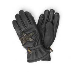 Bogner Silvia Womens Ski Glove in Black Women's Ski Gloves, Womens Ski, White Stone, Skiing, Leather, Black, Fashion, Ski, Moda