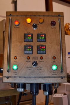 This Electric Brewery from Bad Dog Buddy Brewing is the result of three years work. The Electric Control Panel is based on and inspired b...