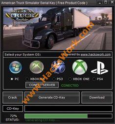 American Truck Simulator βασικό εργαλείο Generator