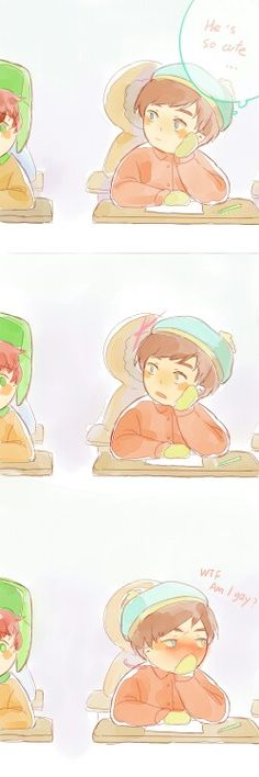 Cartman and Kyle South Park