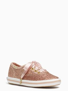 Main Image - Keds® x kate spade new york Champion Glitter Crib Shoe ... 2ee01ec6b