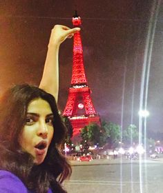Priyanka Chopra having quality time in paris : Bollywood Reporter