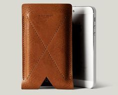 Hard Graft Leather iPhone case