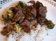 Tried-and-True cooking with Heidi: Crockpot Beef and Broccoli