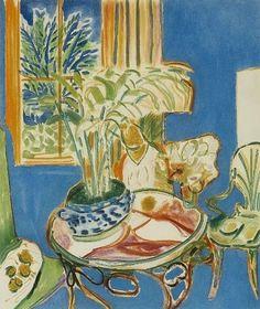 Henri Matisse Little Blue Interior