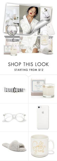 """White Homewear"" by evachasioti ❤ liked on Polyvore featuring Jennifer Loiselle, Antica Farmacista, John Lewis and LSA International"