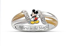 Magic of Mickey Mouse Sterling Silver Ring ~ OMG!!!!!! I LOVE THIS !!!!