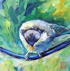 Sea Dean - Paint a Masterpiece: BABY BLUE III - 30 Paintings in 30 Days and  ART P...