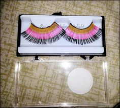 KKcenterhK Leopard Lashes and Flag series lashes review and looks