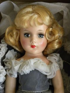 Original Mary Hoyer Doll Mint in Box with Tagged Dress