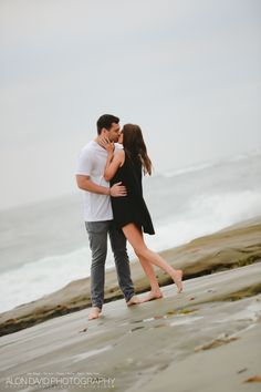Wind and Sea La Jolla Engagement Session Engagement Session Photo by Alon David Photography San Diego Top Wedding Photography Studio Beach Engagement, Engagement Session, Engagement Photography, Wedding Photography, San Diego Beach, La Jolla, Beach Dresses, Couple Photos, Couple Shots