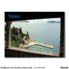 briefkaart voor Trsteno, Dubrovnik, Kroatië