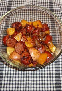 Christine's Pantry: Stovetop Potato & Kielbasa