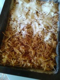Jablkový koláč sypaný bez vajíčka (fotorecept) - obrázok 5 Macaroni And Cheese, Ethnic Recipes, Erika, Cakes, Basket, Mac And Cheese, Cake Makers, Kuchen, Cake