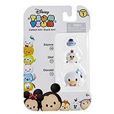 Amazon.com: Tsum Tsum 3-Pack Figures: Donald/Olaf/Eeyore: Toys & Games