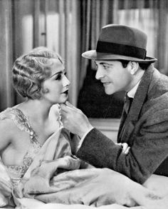 Bebe Daniels & Ricardo Cortez - The Maltese Falcon Golden Age Of Hollywood, Hollywood Stars, Classic Hollywood, Child Actresses, Actors & Actresses, Bebe Daniels, Carole Lombard, Silent Film, Classic Films