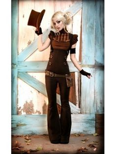 Steampunk Fashion Women | The Great Steampunk Clothing for Women