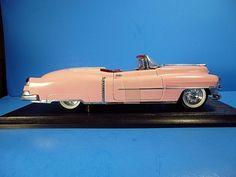 ANSON 1953 PINK CADILLAC ELDORADO DWIGHT D.EISENHOWER 1:18 METAL DIE-CAST CAR #Anson #Cadillac